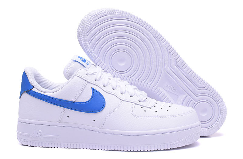 air force 1 noir et bleu femme,Nike Air Force 1'07 blanc et ...
