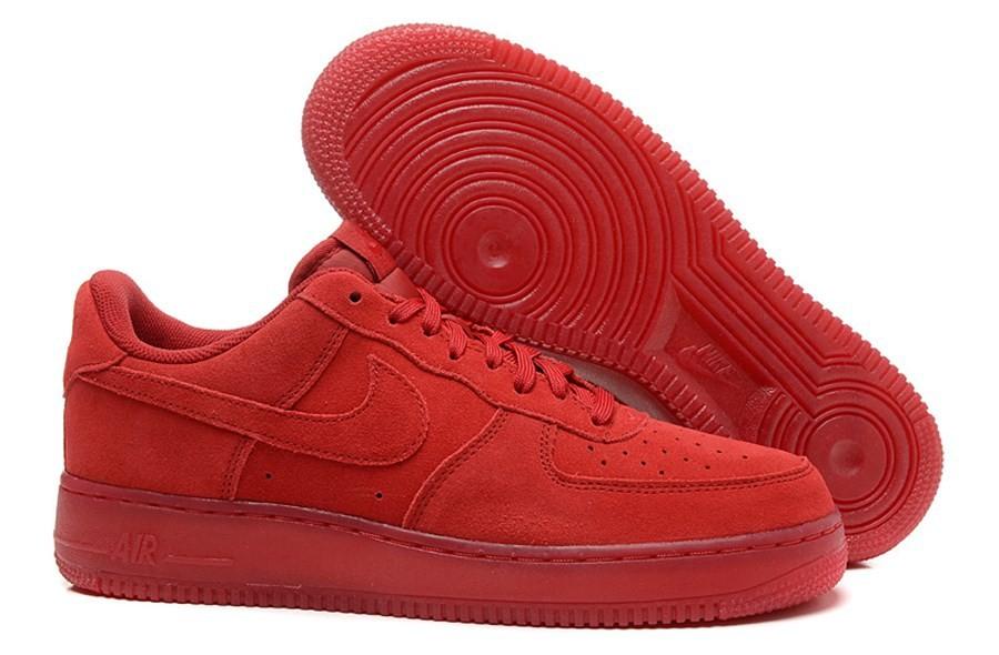 basket femme nike air force 1 rouge