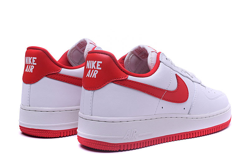 air force pas cher 2017 blanche et rouge,Nike Air Force 1 ...