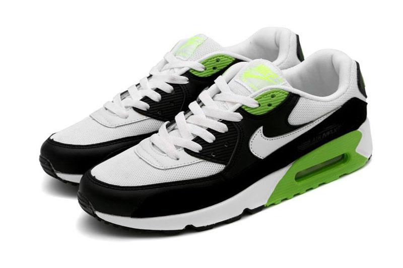air max 90 noir et vert