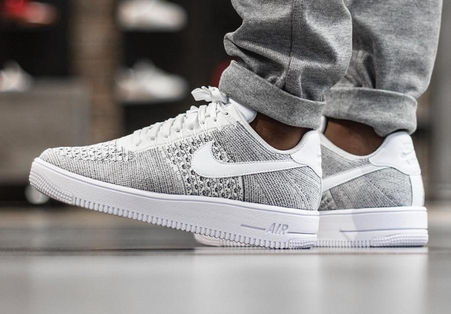 air force 1 grise et blanche