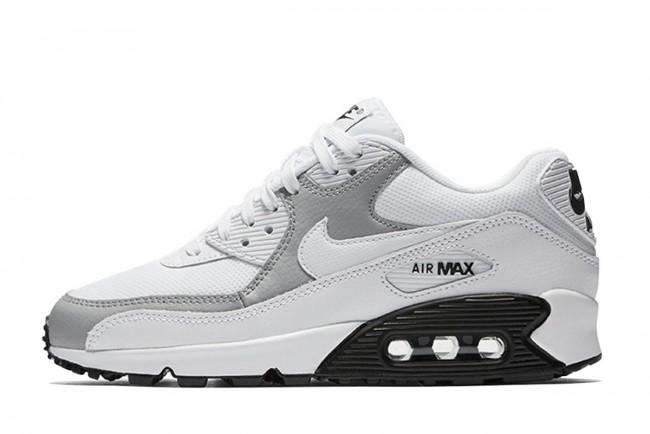 air max blanche grise