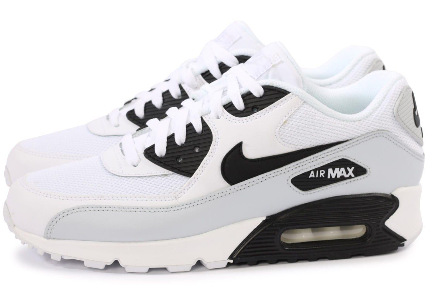 air max 90 blanc noir bleu