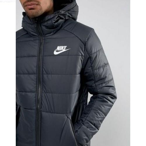 Nike pour homme pour homme en duvet pour femme en noirblanc