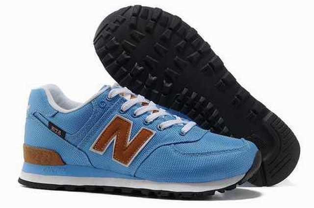 new balance bleu 37