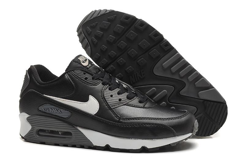 nike max 90 noir et gris femme pas cher,Nike Air Max 90 Noir ...